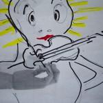 ציור על תצלום