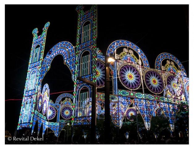 פסטיבל האורות בירושלים 2014